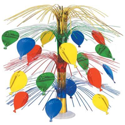 """Balloon Cascade Centerpiece 18"""""""