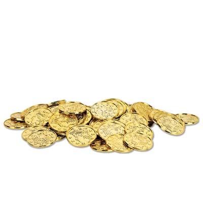 """Plastic Coins 1½"""""""