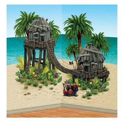 """Pirate Hideaway Prop 5' 6"""" x 5' 1½"""""""