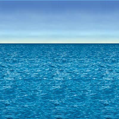 Ocean & Sky Backdrop 4' x 30'