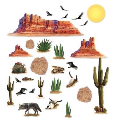"""Wild West Desert Props 5"""" - 52"""""""
