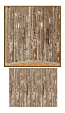 Barn Siding Backdrop 4' x 30'