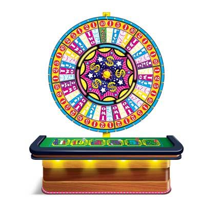 """Wheel Of Fortune Casino Prop 4' 6"""" x 5' 3"""""""