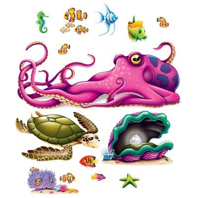 """Sea Creature Props 5"""" - 63"""""""