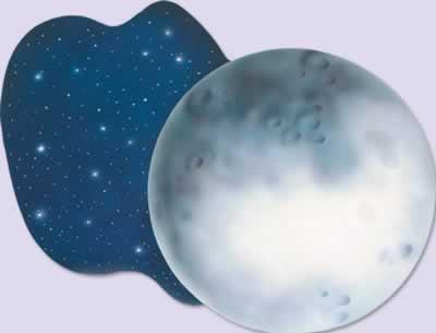 "Moon Cutout 24"""