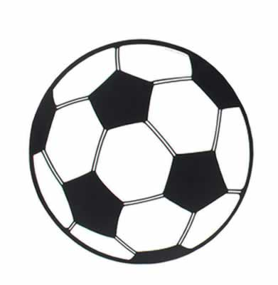 Soccer Ball Cutout 13½""