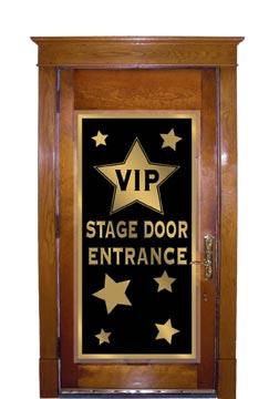 """VIP Stage Door Entrance Door Cover 30"""" x 5'"""