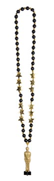 """Beads With Awards Night Statuette 36"""""""