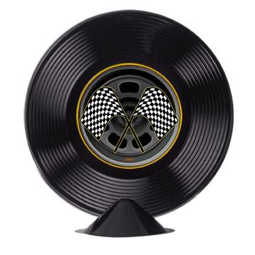 "Plastic Racing Tire Centerpiece 9"""