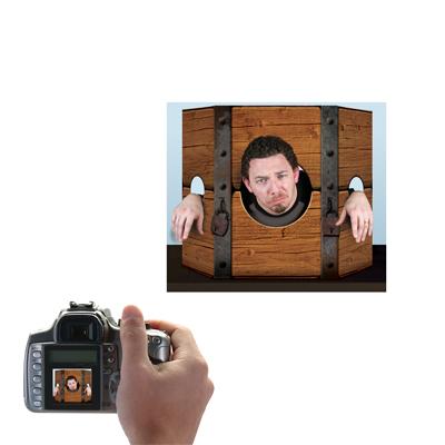 "Medieval Stockade Photo Prop 3' 1"" x 25"""