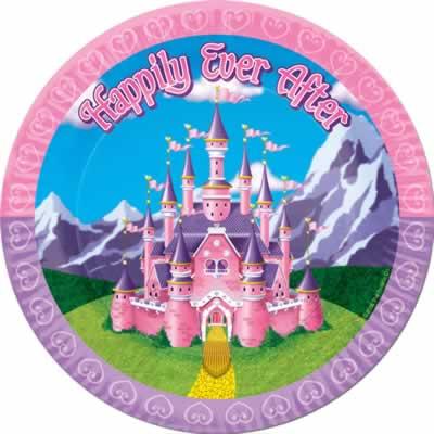 "Princess Plates 9"""