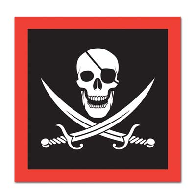Pirate Luncheon Napkins