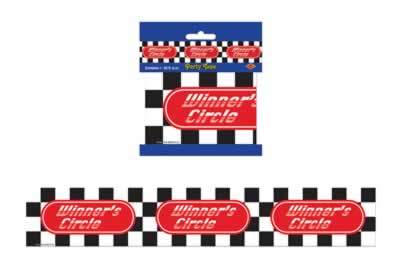 "Winners Circle Party Tape 3"" x 20'"