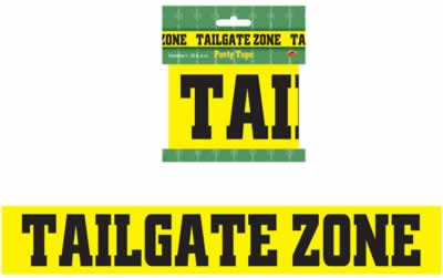 """Tailgate Zone Party Tape 3"""" x 20'"""