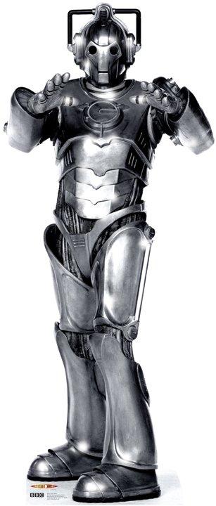 Cyberman - Doctor Who Cardboard Cutout Standup Prop