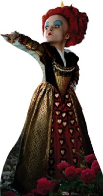 Red Queen - Alice in Wonderland Cardboard Cutout Standup Prop