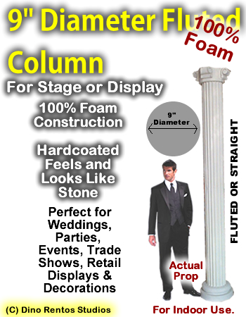 "Foam Column Prop 9"" Diameter"