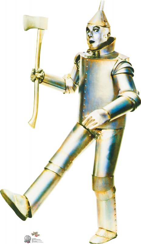 Tin Man - 75th Anniversary - The Wizard of Oz Cardboard Cutout Standup Prop