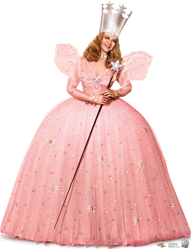Glinda the Good Witch - 75th Anniversary - The Wizard of Oz Cardboard Cutout Standup Prop
