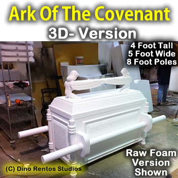 Ark Of The Covenant Full 3D Foam Prop