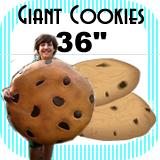 """Big Giant Cookie Foam Prop 36"""""""