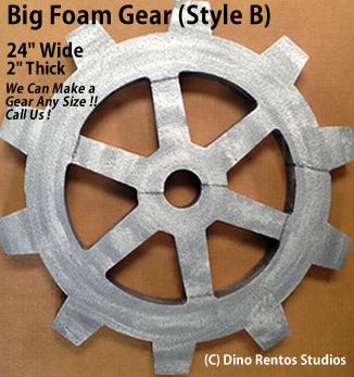 24 Inch Big Foam Gear-B Prop