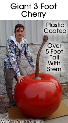 3 Foot Cherry Foam Prop