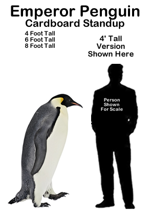 Emperor penguin size comparison - photo#8
