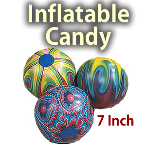 "Inflatable 7"" Candy Props"