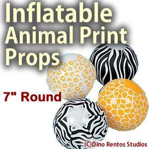 Animal Print Props -7Inch Sphere