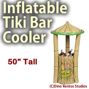 Inflatable Tiki Bar Cooler