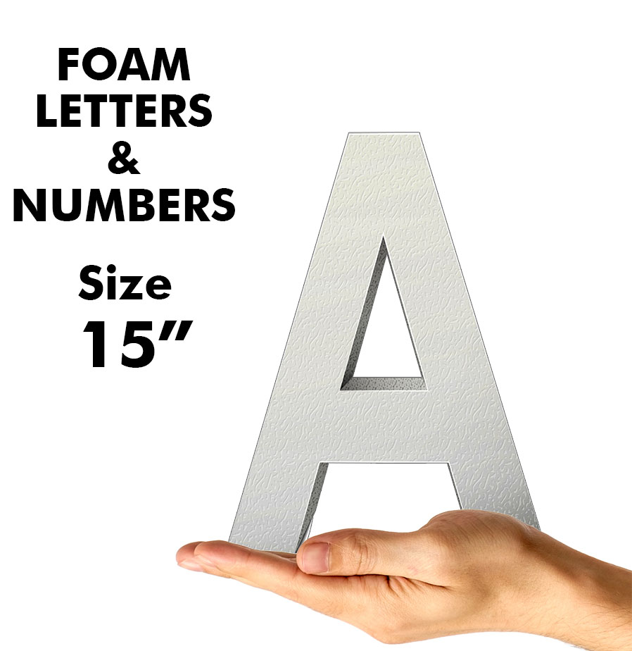 Letters & Numbers 15""