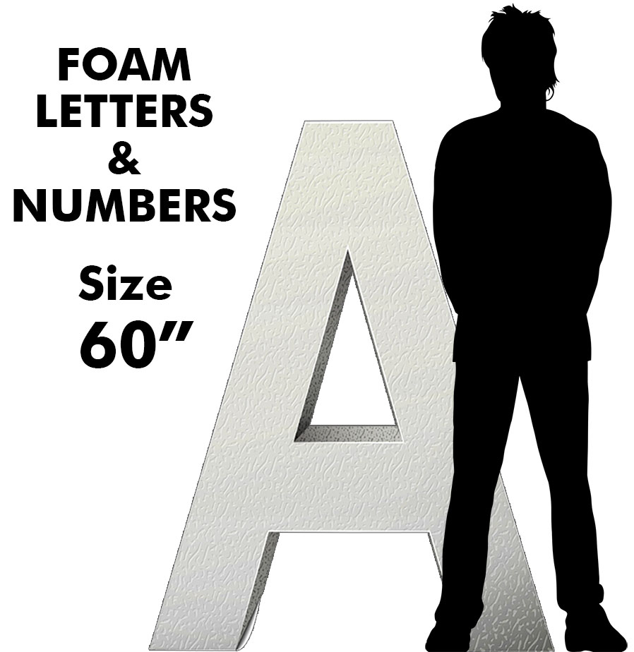 Letters & Numbers 60""