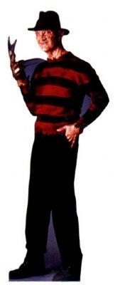 Freddy Krueger - Halloween Cardboard Cutout Standup Prop