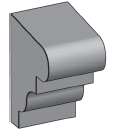M17 - Architectural Foam Shape - Molding