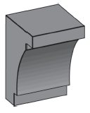 M34 - Architectural Foam Shape - Molding