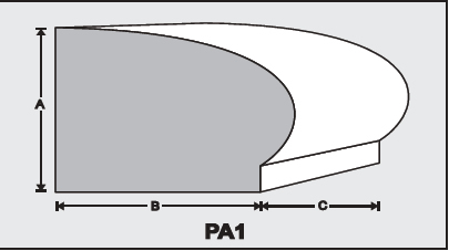 PA1 - Architectural Foam Shape - Parapets & Caps