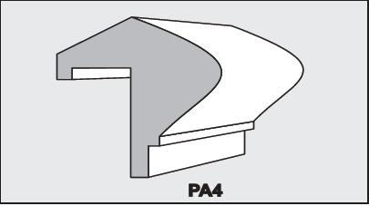 PA4 - Architectural Foam Shape - Parapets & Caps