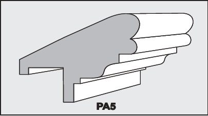 PA5 - Architectural Foam Shape - Parapets & Caps
