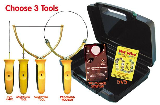 Pro Model 3-In-1 Hot Wire Foam Factory