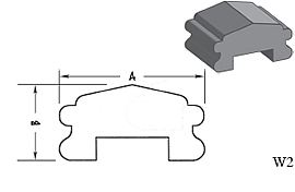 W2 - Architectural Foam Shape - Wall Cap