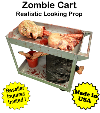 Zombie Cart Prop