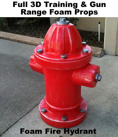 Life Size- Fire Hydrant foam prop sculpture