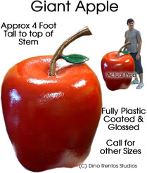 3 Foot Apple Foam Prop