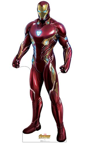 Iron Man Marvel Cardboard Cutout Standup Prop