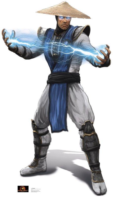 Raiden - Mortal Kombat Cardboard Cutout Standup Prop