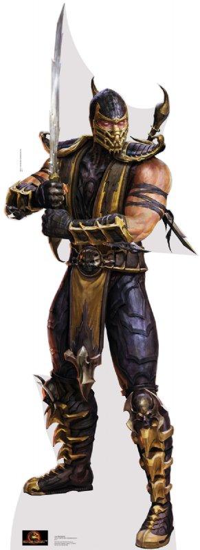 Scorpion - Mortal Kombat Cardboard Cutout Standup Prop