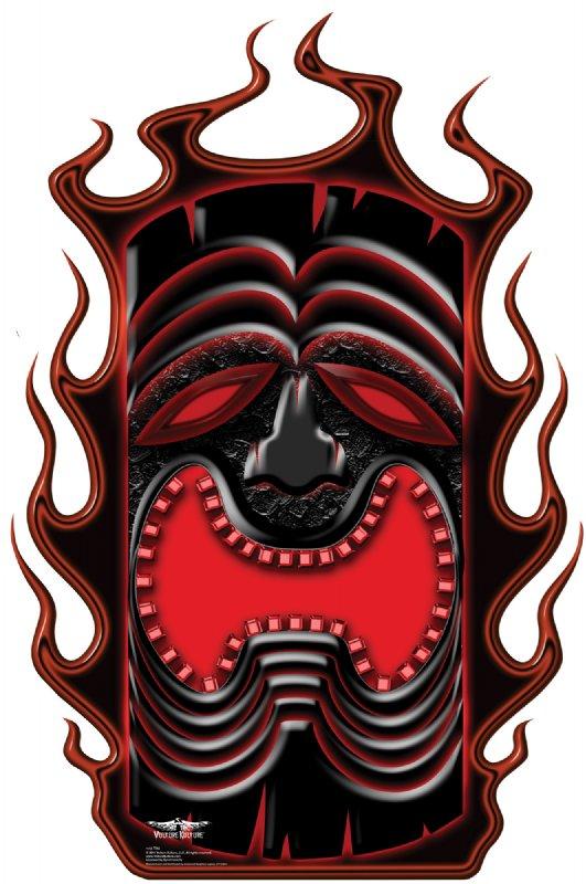 Vulture Kulture Tiki - Halloween Cardboard Cutout Standup Prop