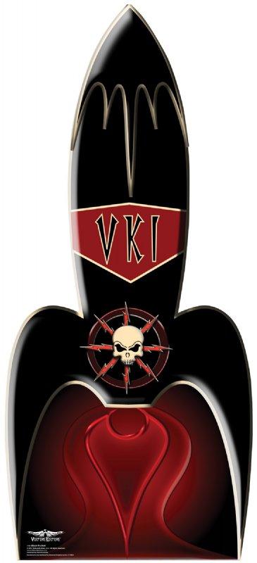 Vulture Kulture Black Rocket - Halloween Cardboard Cutout Standup Prop