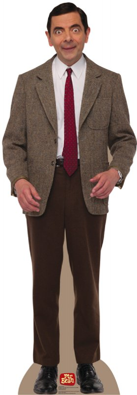 Mr. Bean Cardboard Cutout Standup Prop